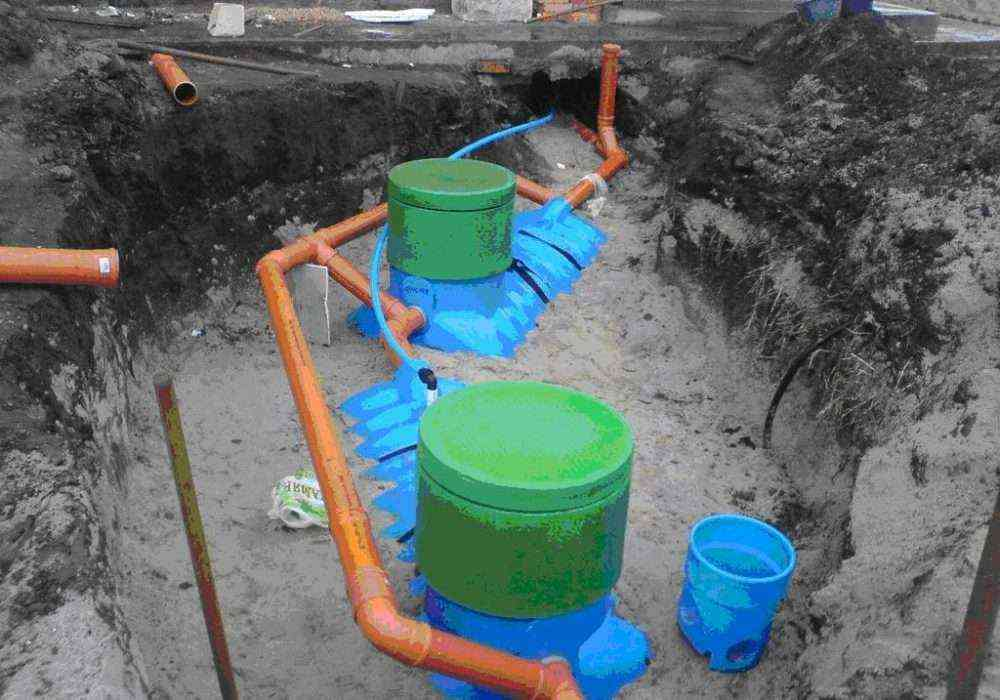 Монтаж канализации