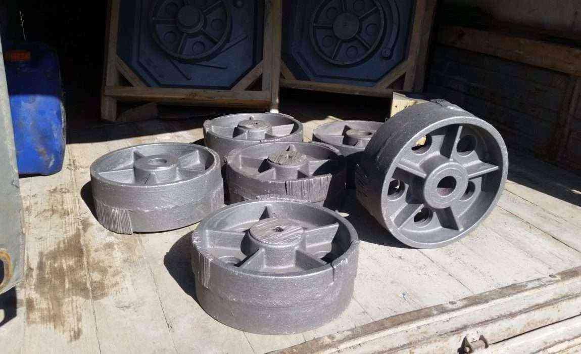 Комплект отливок колес для ротационной машины